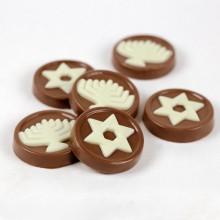 3pc Hanukkah Chocolate Coins (Gelt)