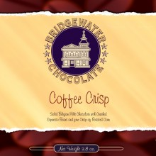 Coffee Crisp Milk Chocolate Bar