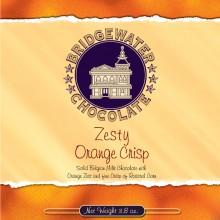 Orange Crisp Milk Chocolate Bar
