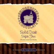 Sugar Free Solid Dark Chocolate Bar