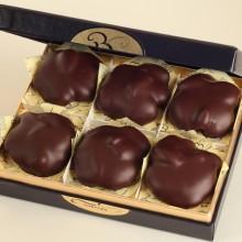 6 pc. Dark Chocolate Törtéls