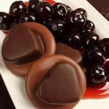 6 pc. Cherry Hearts