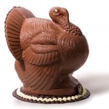 "12"" - 4.5 lb. Dark Chocolate Turkey"