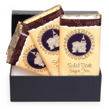Box of 6 Solid Dark Sugar Free Bars