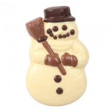 Snowman - WHITE chocolate